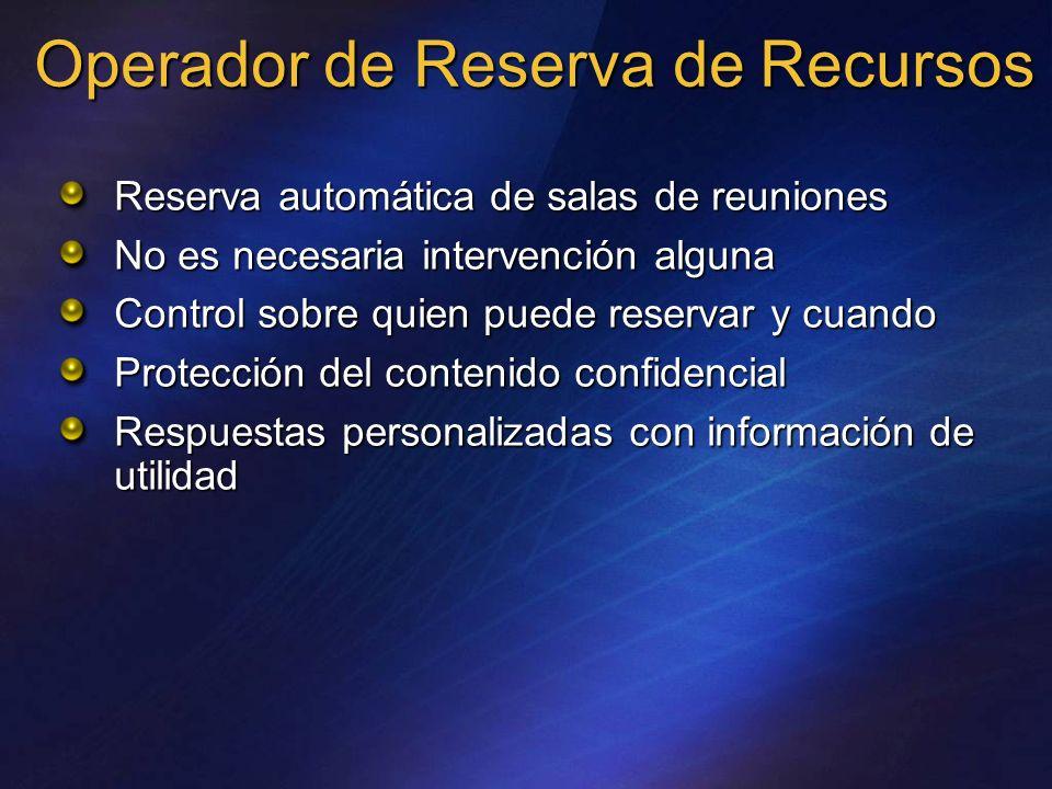 Operador de Reserva de Recursos