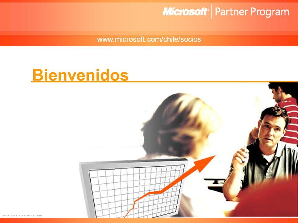www.microsoft.com/chile/socios Bienvenidos .