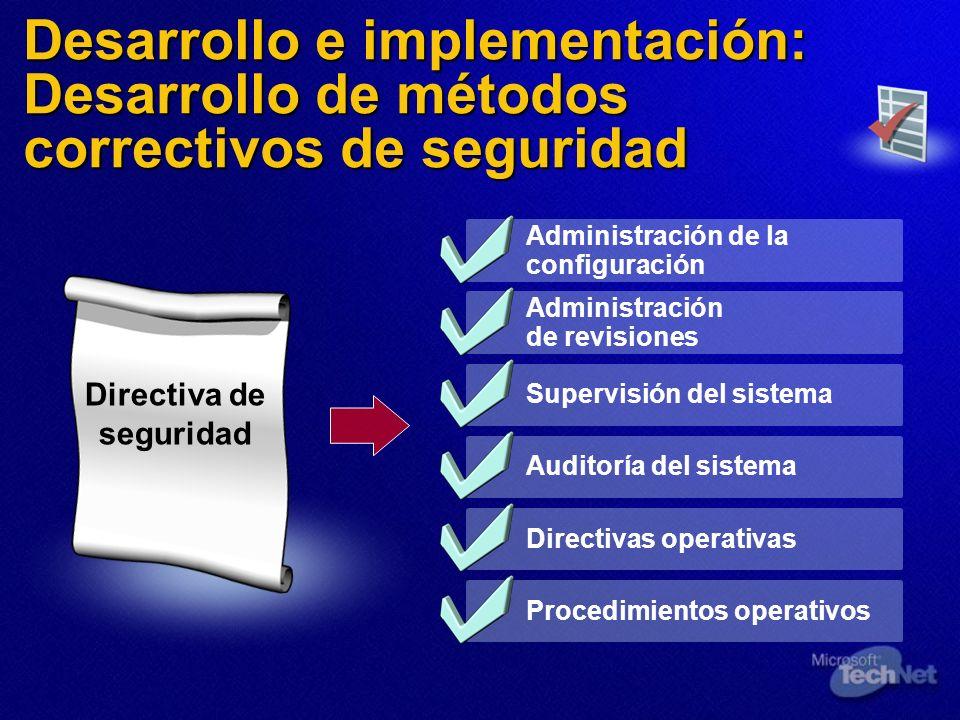 Directiva de seguridad