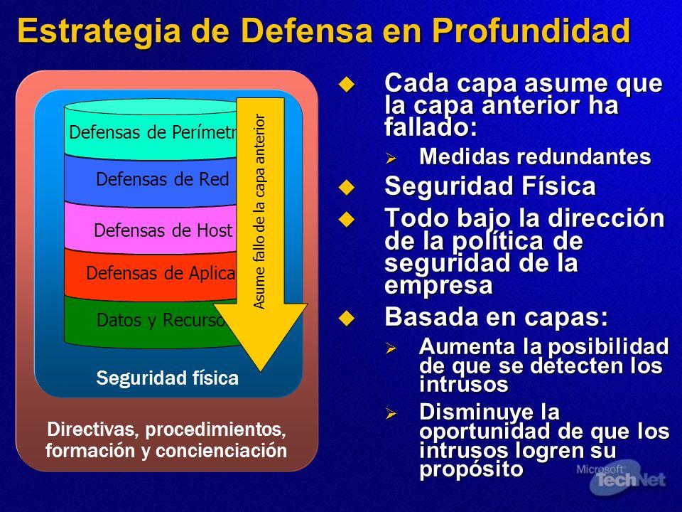 Estrategia de Defensa en Profundidad