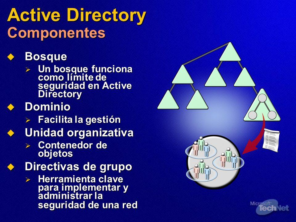Active Directory Componentes