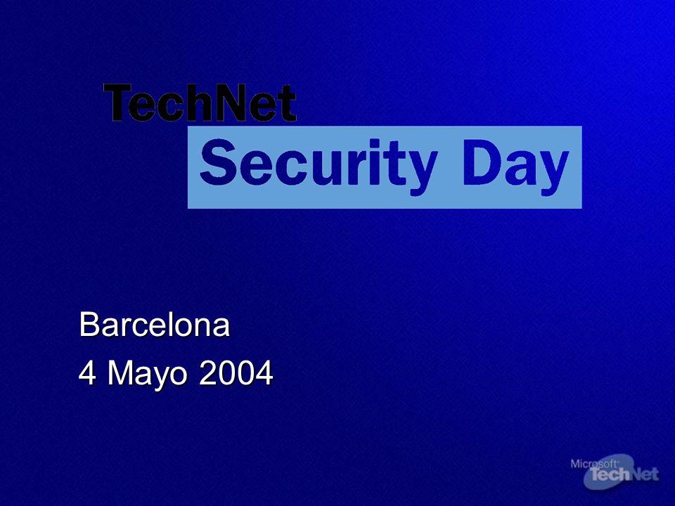 Barcelona 4 Mayo 2004