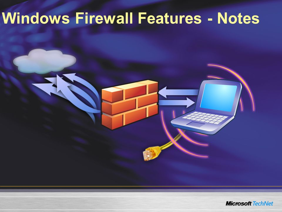 Windows Firewall Features - Notes