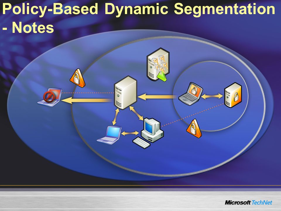 Policy-Based Dynamic Segmentation - Notes