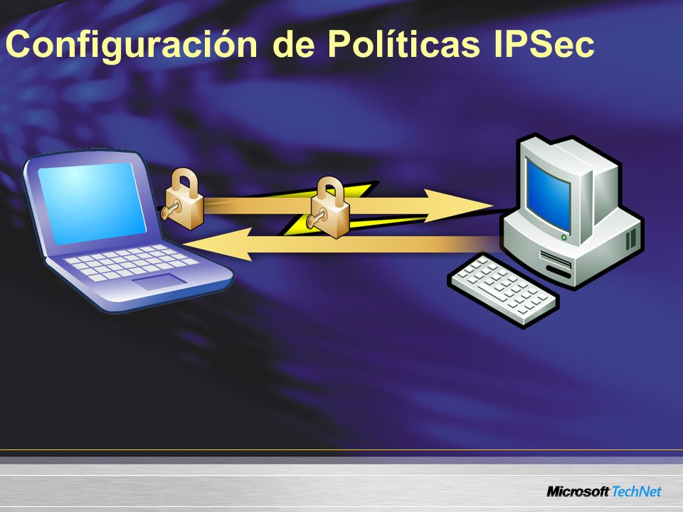 Configuración de Políticas IPSec