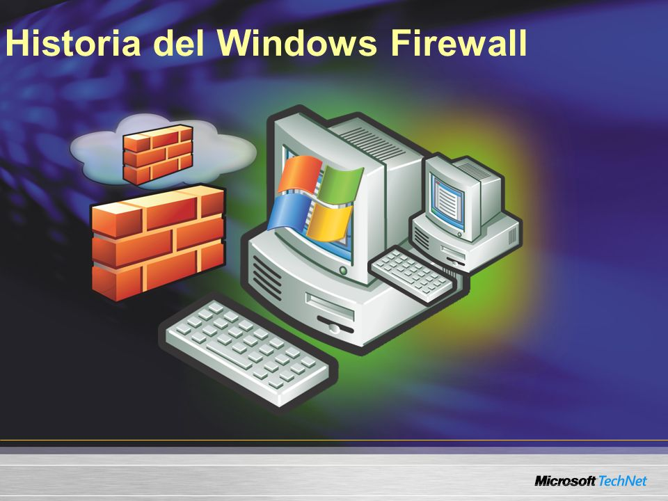 Historia del Windows Firewall