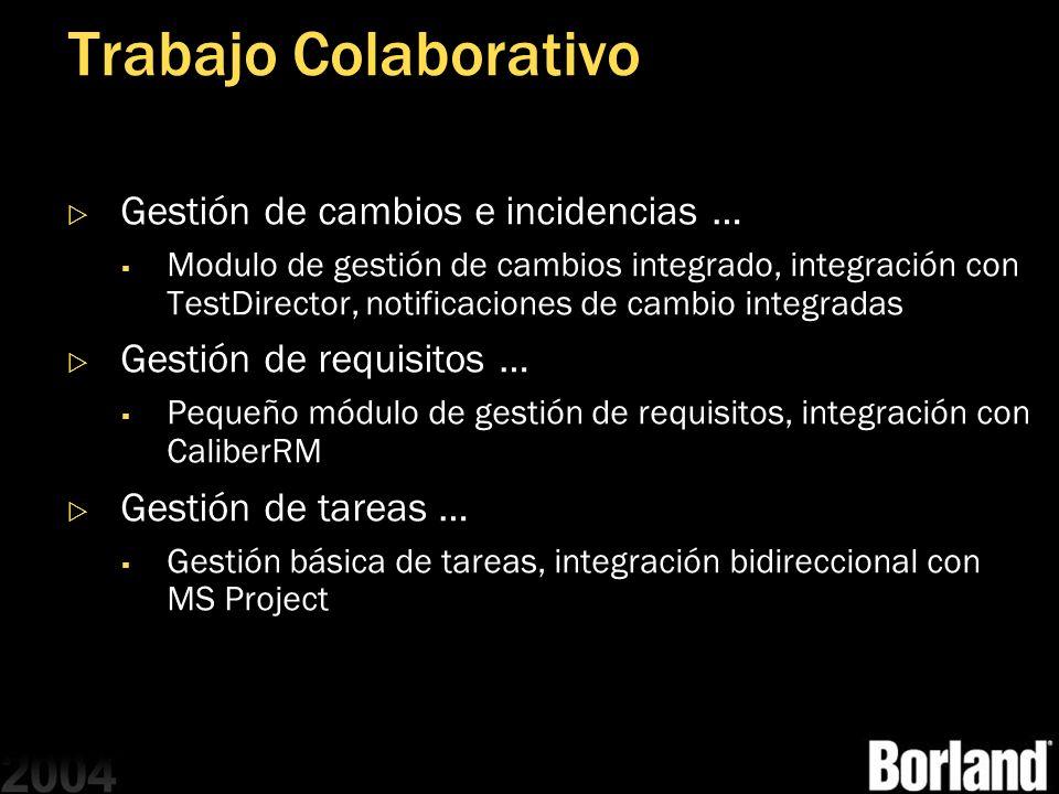 Trabajo Colaborativo Gestión de cambios e incidencias …