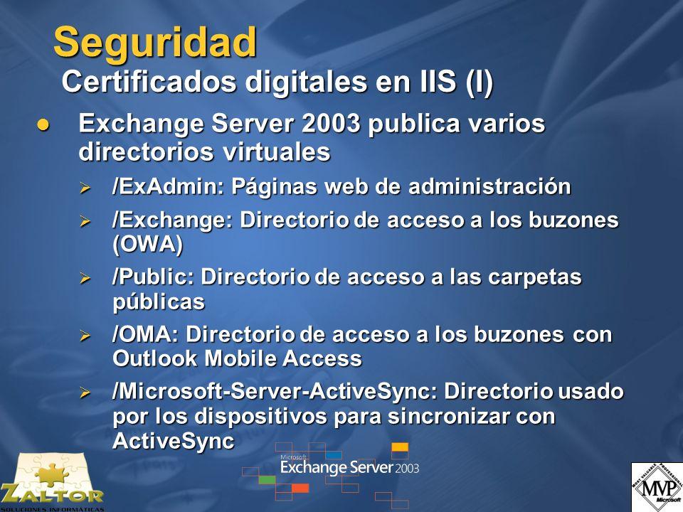 Seguridad Certificados digitales en IIS (I)