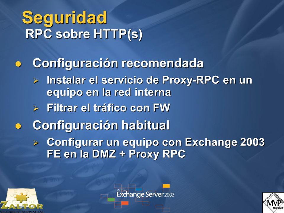 Seguridad RPC sobre HTTP(s)