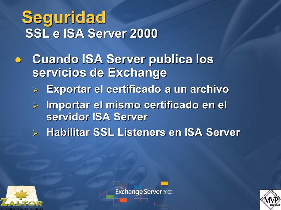 Seguridad SSL e ISA Server 2000