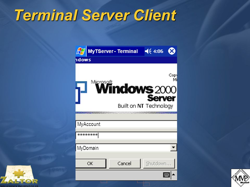Terminal Server Client