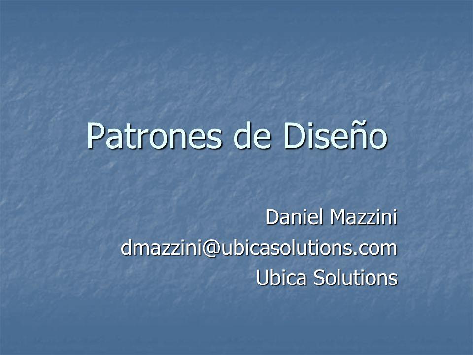 Daniel Mazzini dmazzini@ubicasolutions.com Ubica Solutions