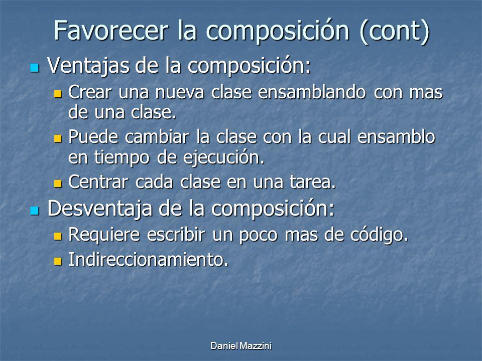 Favorecer la composición (cont)