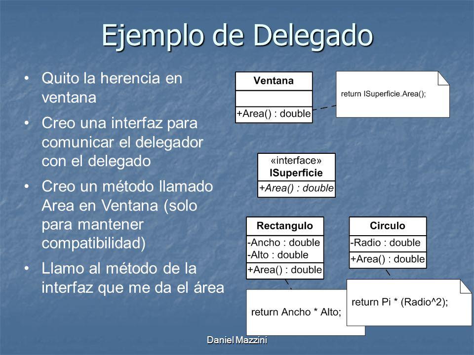 Ejemplo de Delegado Quito la herencia en ventana