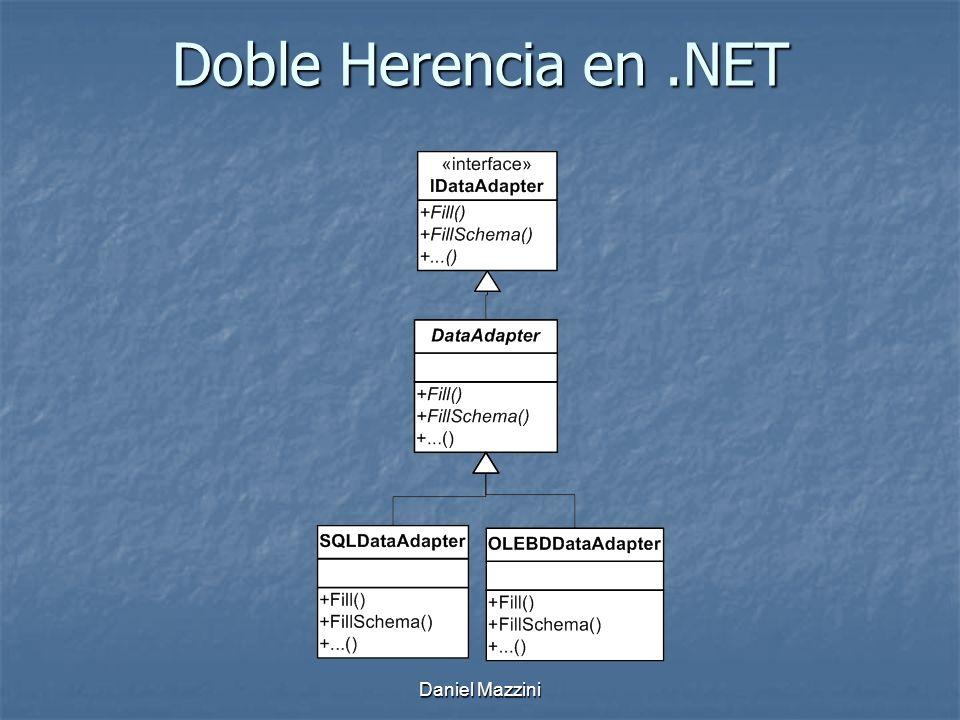 Doble Herencia en .NET Daniel Mazzini