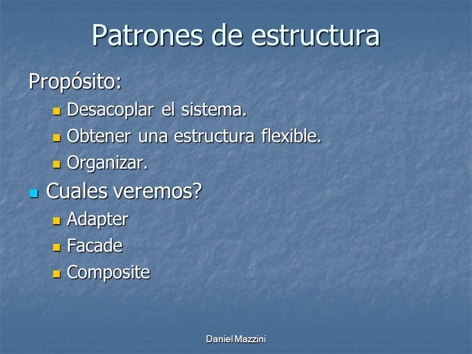 Patrones de estructura