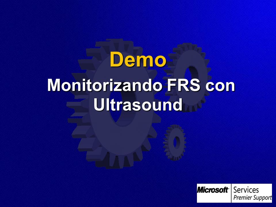 Demo Monitorizando FRS con Ultrasound