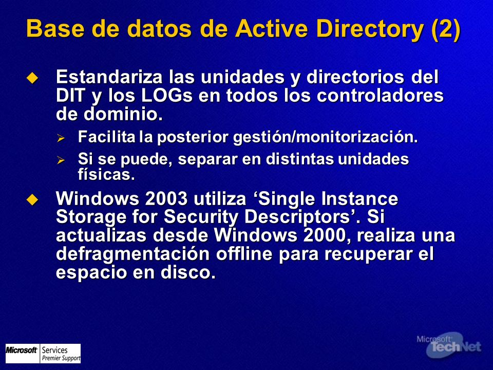 Base de datos de Active Directory (2)
