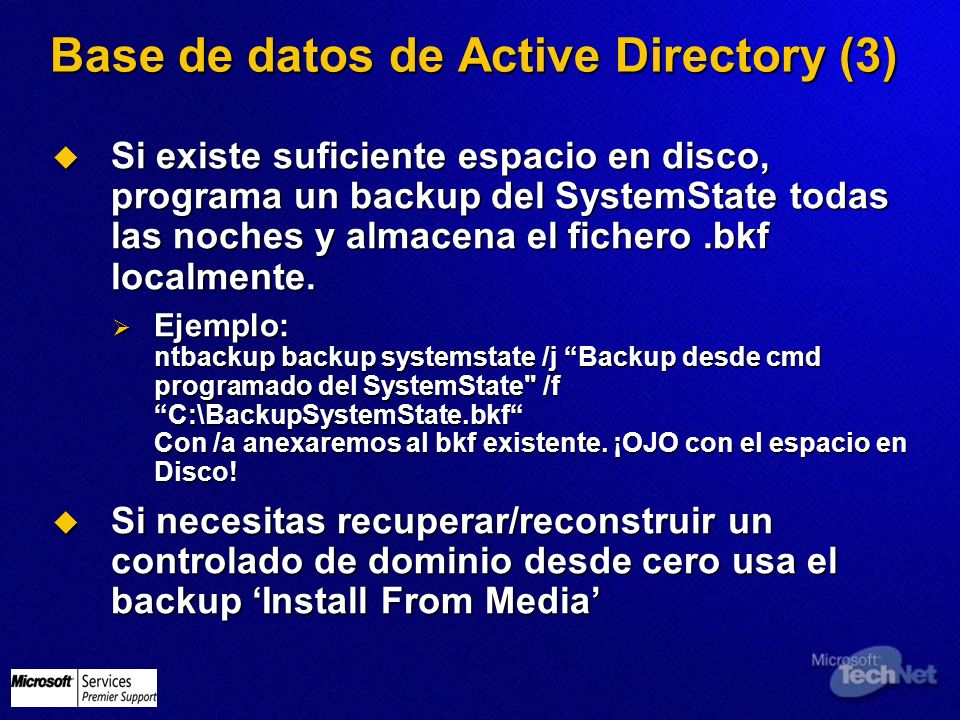 Base de datos de Active Directory (3)