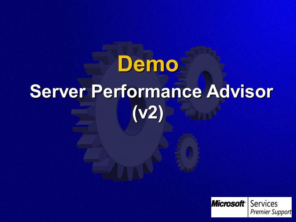 Demo Server Performance Advisor (v2)