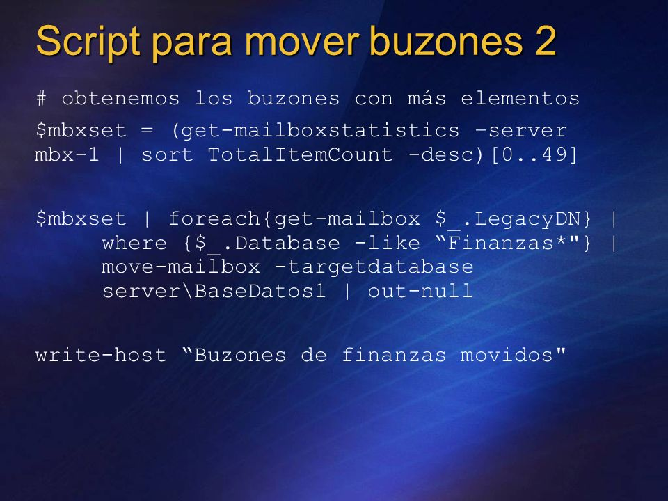 Script para mover buzones 2