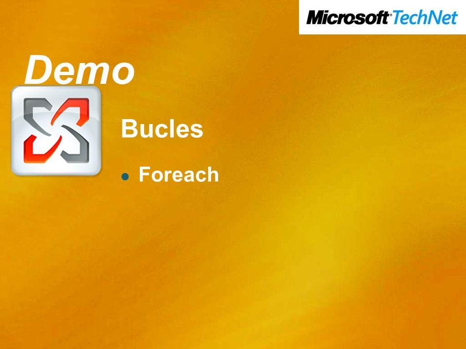 Demo Demo Bucles Foreach