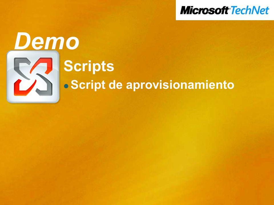 Demo Demo Scripts Script de aprovisionamiento