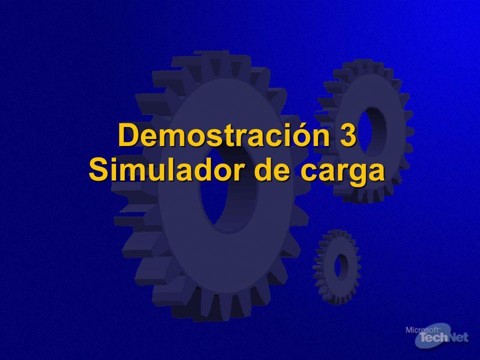 Demostración 3 Simulador de carga