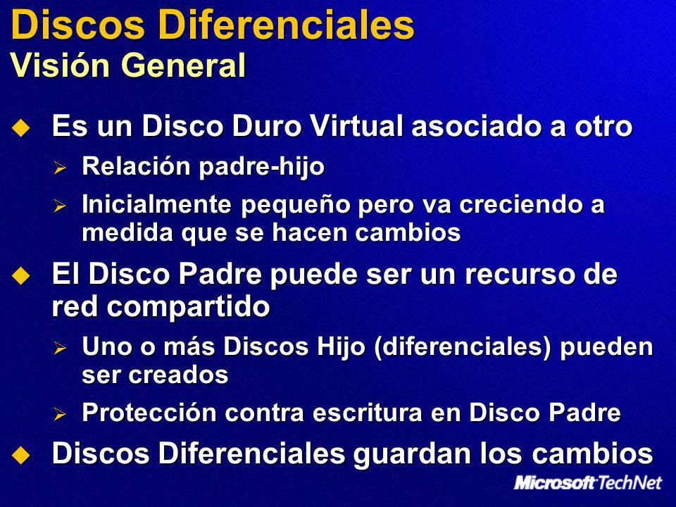 Discos Diferenciales Visión General