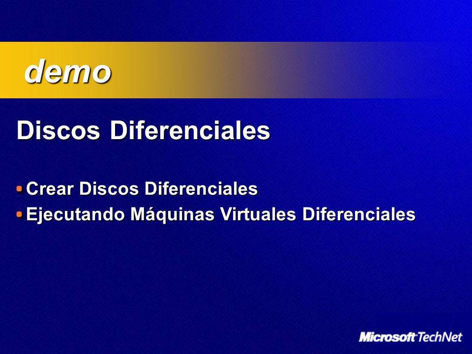 demo Discos Diferenciales Crear Discos Diferenciales