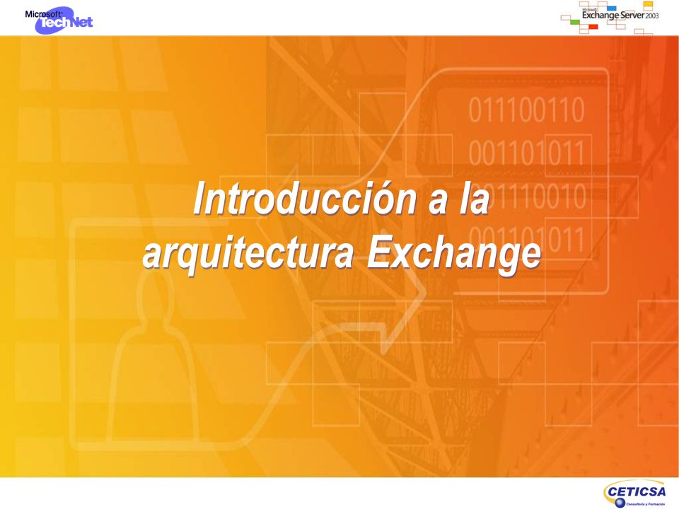 Introducción a la arquitectura Exchange