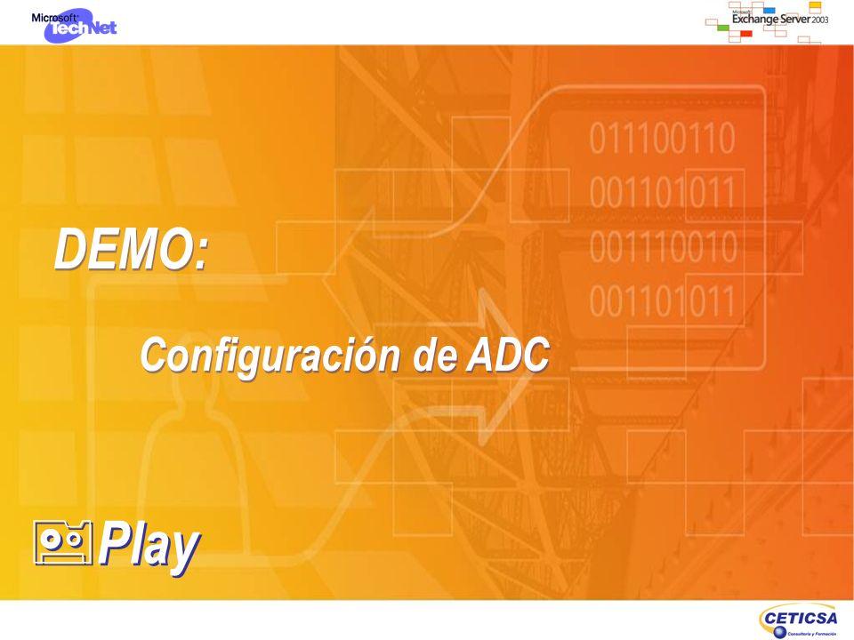 DEMO: Configuración de ADC Play