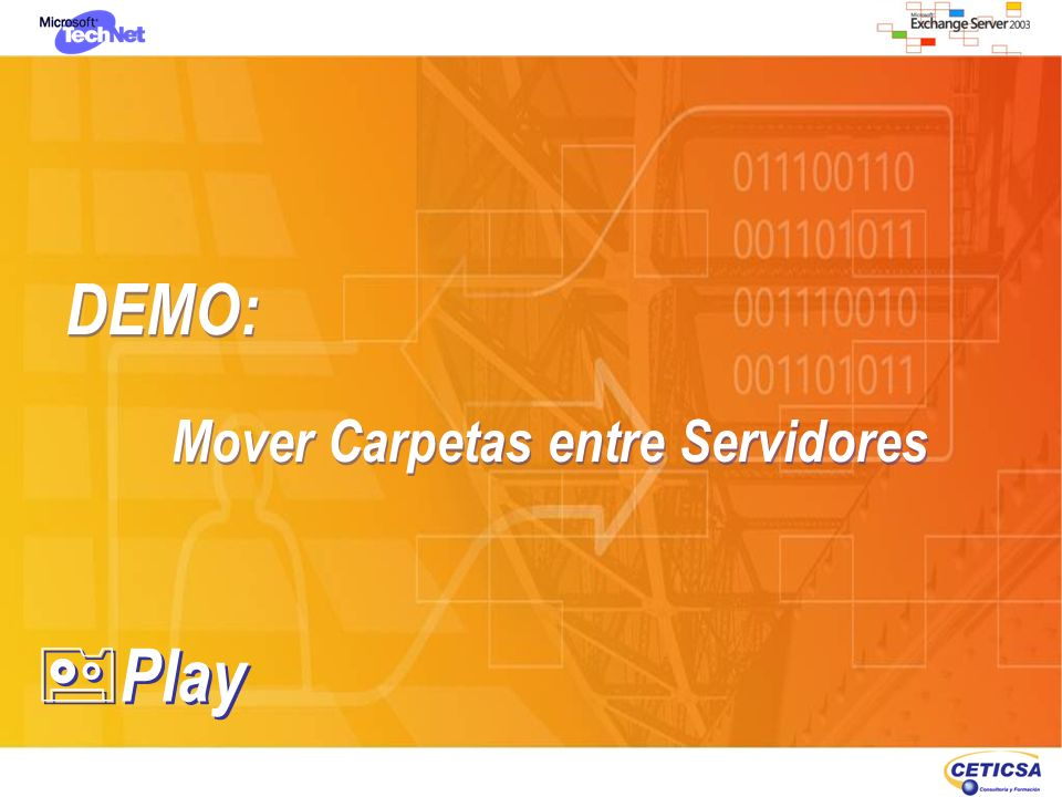 DEMO: Mover Carpetas entre Servidores Play