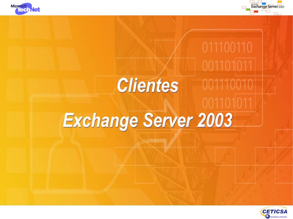 Clientes Exchange Server 2003