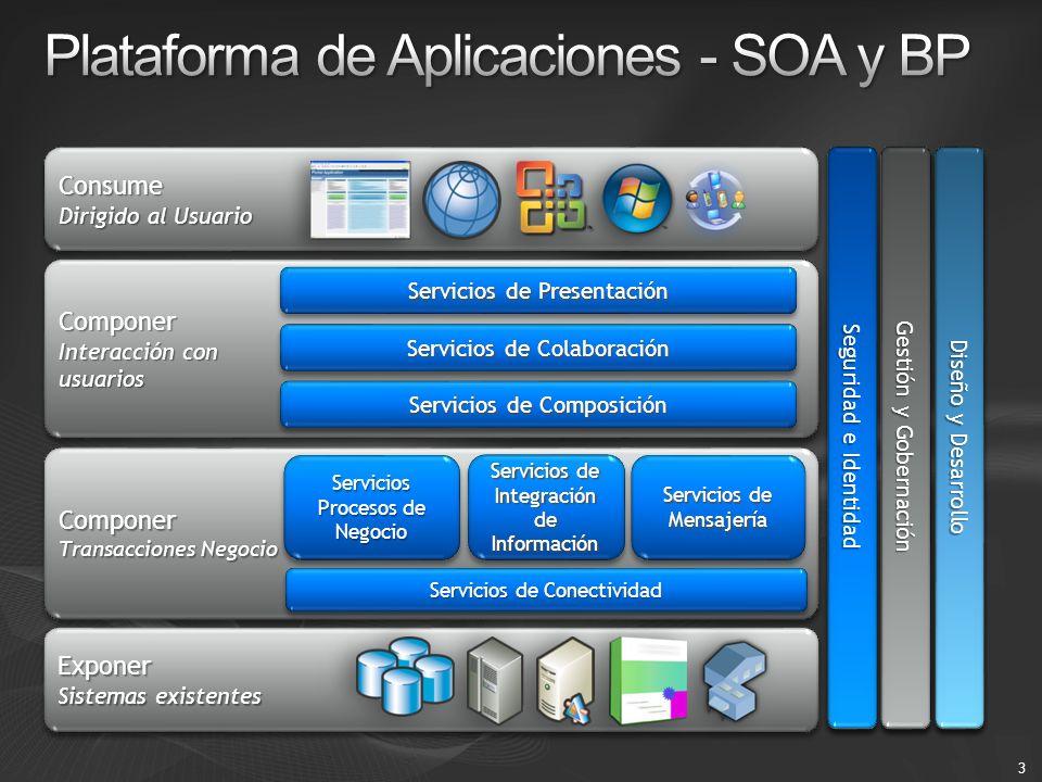 Plataforma de Aplicaciones - SOA y BP