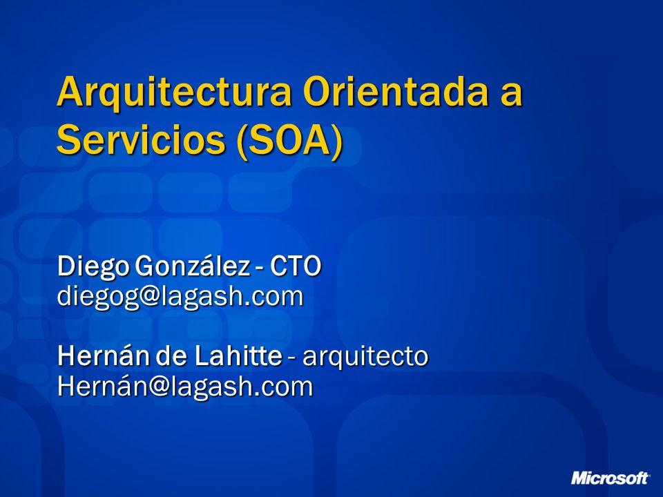 Arquitectura Orientada a Servicios (SOA)