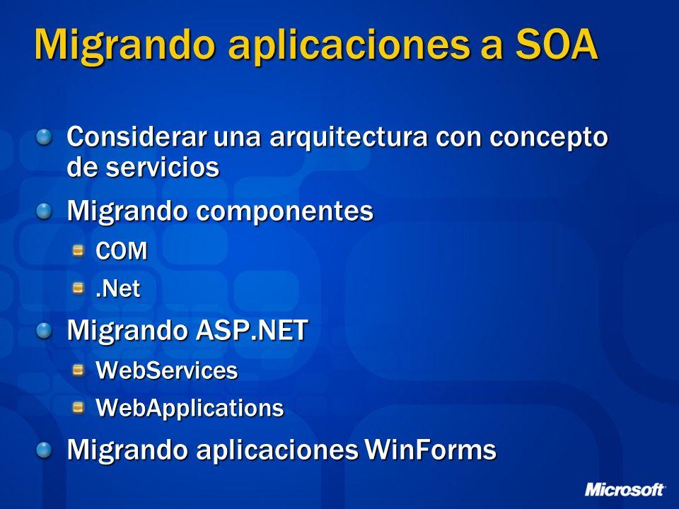 Migrando aplicaciones a SOA