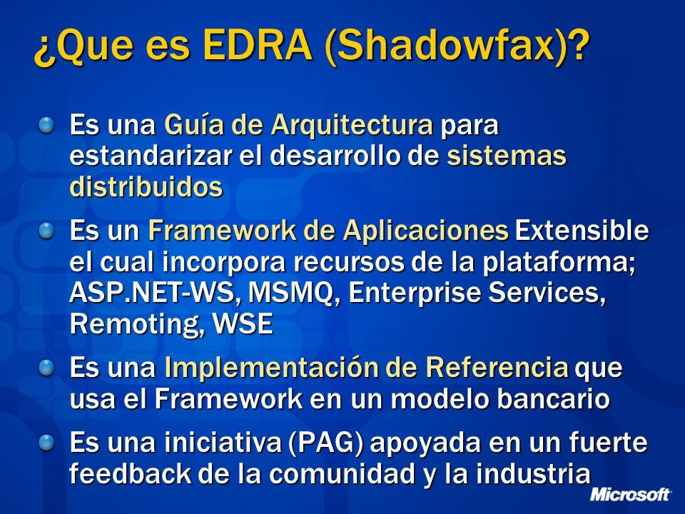 ¿Que es EDRA (Shadowfax)