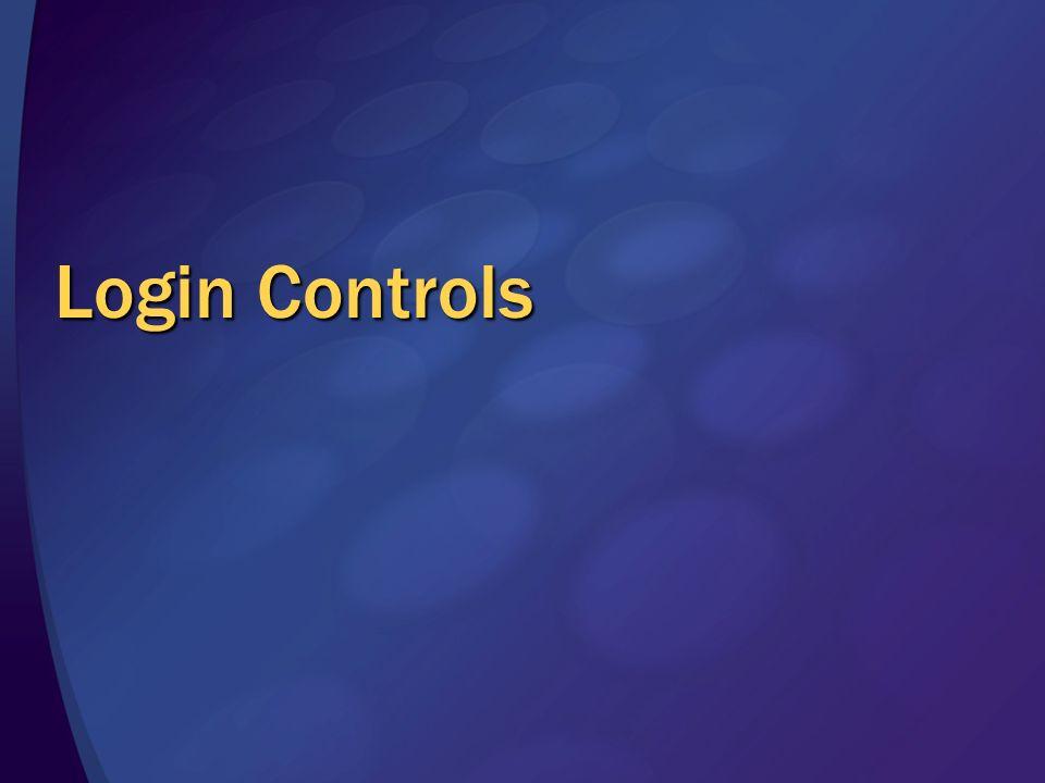 Login Controls