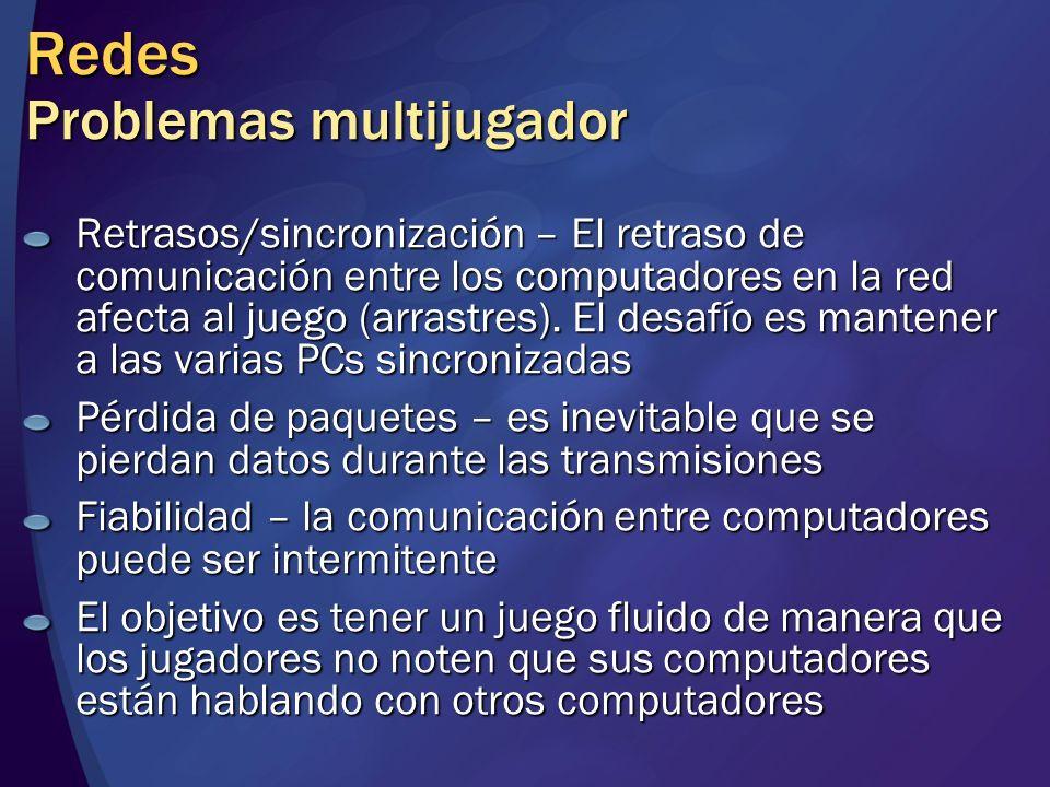 Redes Problemas multijugador