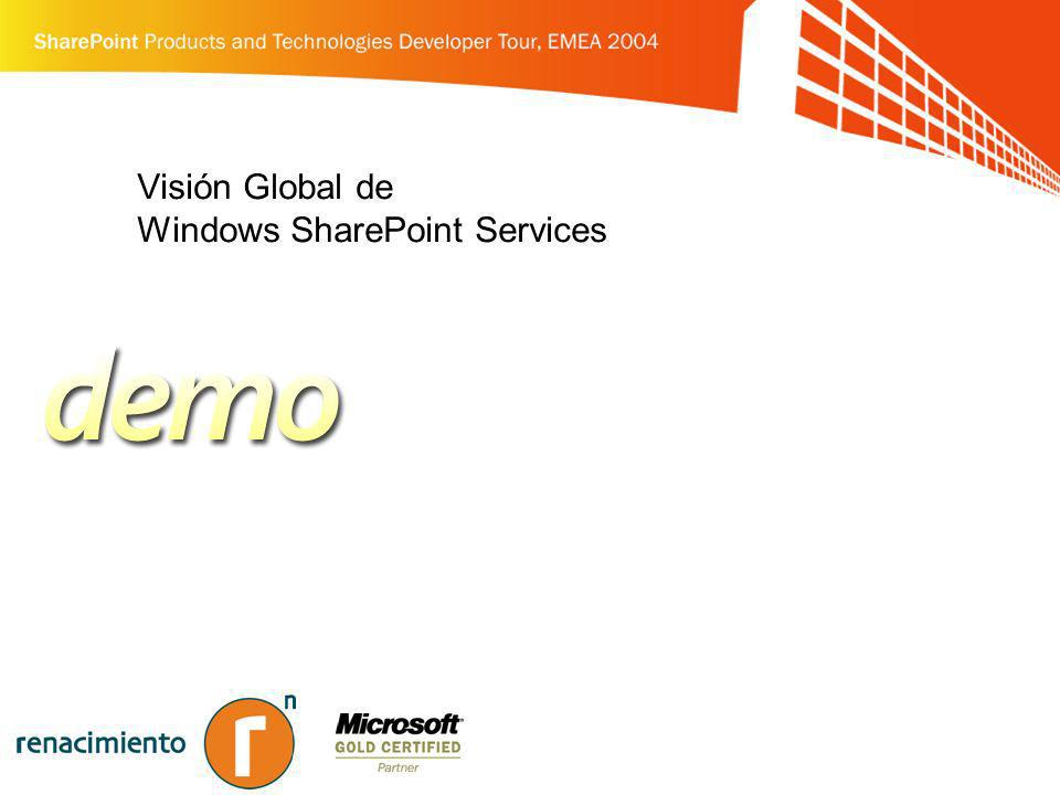 Visión Global de Windows SharePoint Services