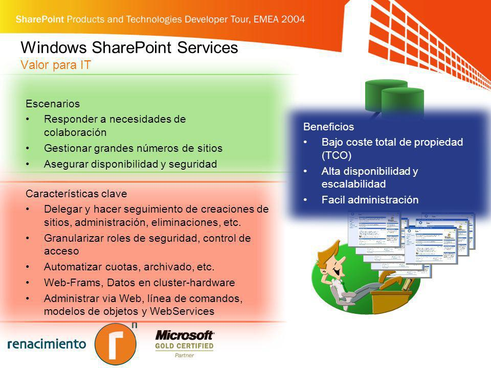Windows SharePoint Services Valor para IT