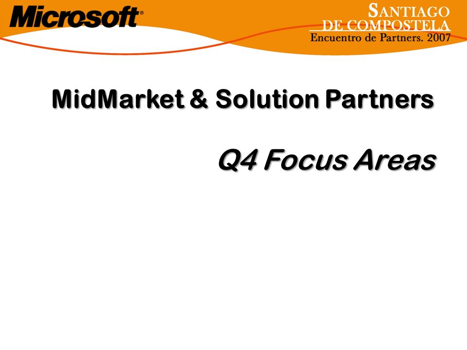 MidMarket & Solution Partners