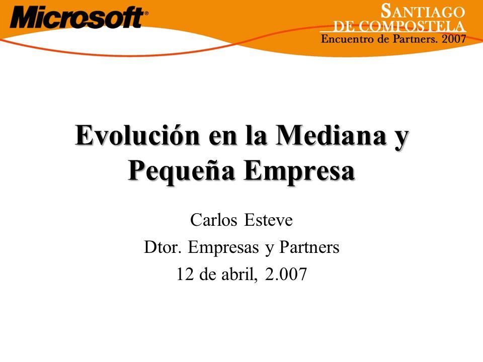Evolución en la Mediana y Pequeña Empresa