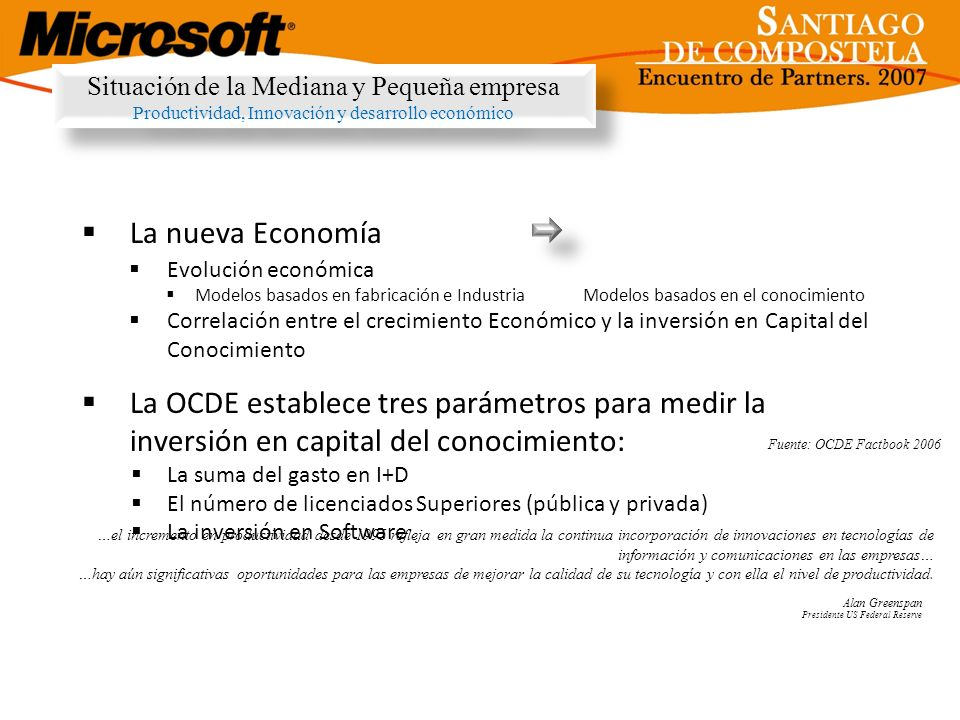 Situación de la Mediana y Pequeña empresa Productividad, Innovación y desarrollo económico