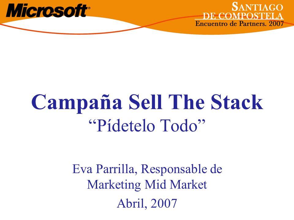 Campaña Sell The Stack Pídetelo Todo