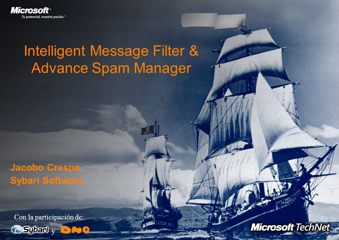 Intelligent Message Filter & Advance Spam Manager