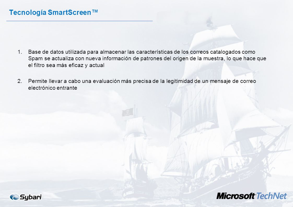 Tecnología SmartScreen™
