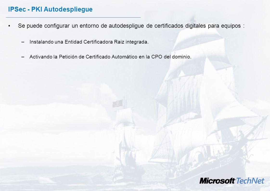 IPSec - PKI Autodespliegue