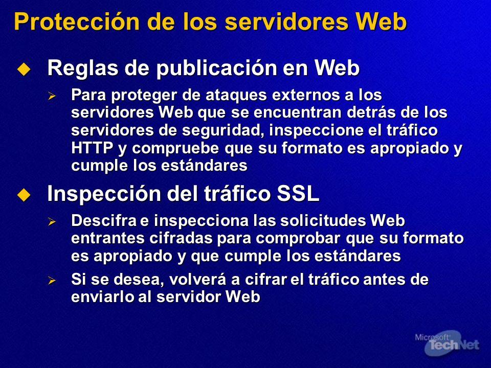 Protección de los servidores Web